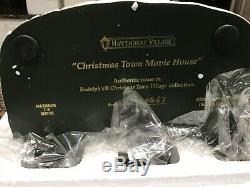 Hawthorne Village Rudolph Christmas Town Christmas Town Movie House
