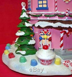 Hawthorne Village Rudolph's Christmas Mrs. Claus Sweet Shop HTF WithCOA 2004 (ACS)