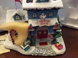 Hawthorne Village Rudolph's Christmas Town Book Shoppe Rare NIB