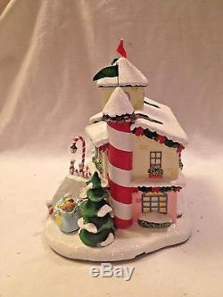 Hawthorne Village Rudolph's Christmas Town Charlie's Toys Toy Shop HTF CoA MIB
