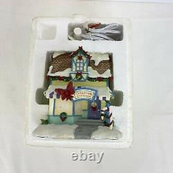 Hawthorne Village Rudolph's Christmas Town Christmas Card Shoppe Rare