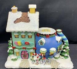 Hawthorne Village Rudolph's Christmas Town Cocoa Cafe STYROFOAM WEAR