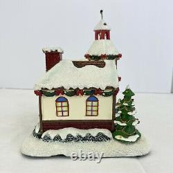 Hawthorne Village Rudolph's Christmas Town Jingle Jingle Jingle Bell Shop coa