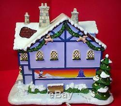 Hawthorne Village Rudolph's Christmas Town Misfit Inn HTF WithCOA 2005 (ACS)
