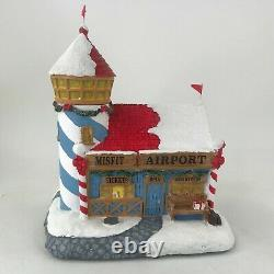 Hawthorne Village Rudolphs Christmas Town Misfit Airplane Airport Lighthouse
