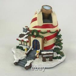 Hawthorne Village Rudolphs Christmas Town North Pole Observatory Lighted