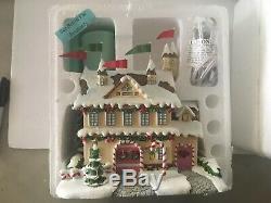Hawthorne Village Rudolphs Christmas Town Santa Castle Workshop Tree Barn Bumble