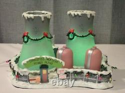 Hawthorne Village Simpsons Springfield Nuclear Power Plant Christmas Village COA