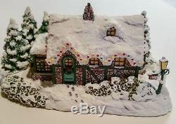 Hawthorne Village Thomas Kinkade Christmas Memories 7 Collection Set COAs Boxes