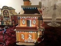 Hoferts Fiber Optic Christmas Village lot of 4