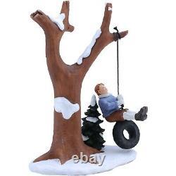 Holiday Time 4.625 Swing Figurine Christmas Village