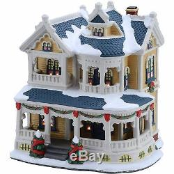 Holiday Time 7.5 Victorian House Christmas Village