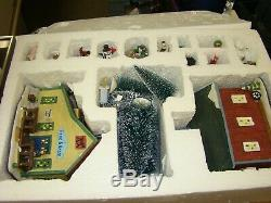 Holiday Time Christmas Village House 20 Piece Village House & Accessories Set