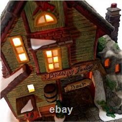 Holiday Time Dept 18 Brewing Factory Village Collectibles #P6190 Authentically