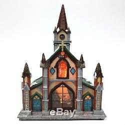 Holiday Village Set 30-Piece Country Christmas Lighted Musical Snow Battery Song