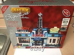 Htf Lemax Signature Collection Michaels 2008 Kjoy Radio Station Plays Music