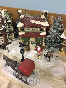 Huge Christmas Village / Snow Village Lot
