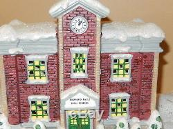 It's A Wonderful Life BEDFORD FALLS HIGH SCHOOL ENESCO SERIES III 2004 RARE MIB