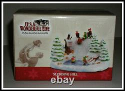 It's A Wonderful Life Enesco Christmas 2005'SLEDDNG HILL' NEWithMINT in BOX-RARE