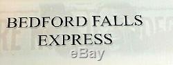 It's a Wonderful Life Bedford Falls Express Train Enesco New in Box Rare