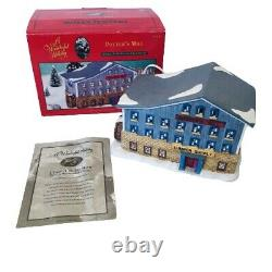 It's a Wonderful Life Holiday Village Potter's Mill Lumber Supply Target 1998