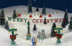 It's a Wonderful Life VERY RARE Village Banner'Merry Christmas' 2-Strand Enesco