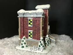 Its A Wonderful Life Enesco Christmas Village Bedford Falls High School! NIB