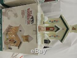 Its A Wonderful Life Illuminated Village Series 3 Collection 4 boxes
