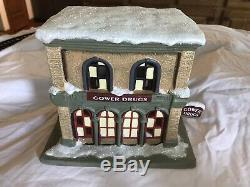 Its A Wonderful Life Illuminated Village Series I Collection Christmas with Box