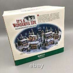 Its a Wonderful Life Christmas Village City Hall Enesco 2003 Series 2 NEW