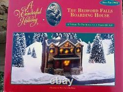 Its a Wonderful Life The Bedford Falls Boarding House Christmas Village Rare