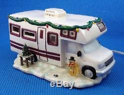 JWM Collections Limited Edition Roadside Christmas Lighted RV Camper Motor Home