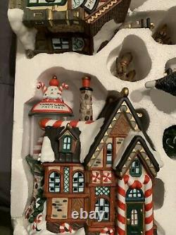 Kirkland Signature 32 Piece Porcelain Lighted Village # 59979