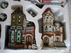 Kirkland Signature 41 Piece Lighted Christmas Victorian Village Set