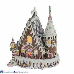 Kurt Adler Gingerbread Candy Inn LED Decor