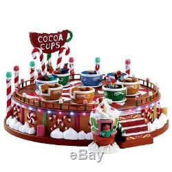 LEMAX CARNIVAL/CANDY LANE/SUGAR N SPICE House Village- COCOA CUPSSights & Sound