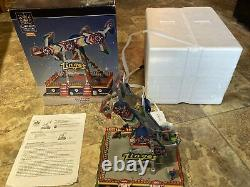 LEMAX Carole Towne The Zinger-animated Holiday Village/Carnival RETIRED