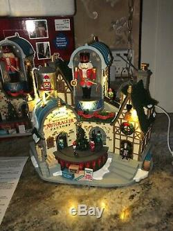 LEMAX Christmas LUDWIG'S WOODEN NUTCRACKER FACTORY Lighted Musical ANIMATED
