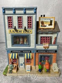 LEMAX Christmas Village Lands End Clothing Store Sears exclusive RARE
