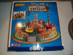 LEMAX Christmas village Carnival LOST RAFTERS with Lights Music and Motion NEW