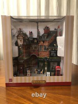 LEMAX English Lane Essex Street Christmas Village Collection New 75197