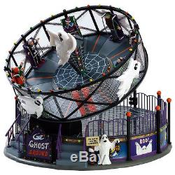 LEMAX SPOOKY TOWNCARNIVAL/Halloween GHOST AROUND FREE FIREWORKS OFFER