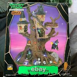 LEMAX SPOOKY TOWN Witches Perch #64426 (2006) Used