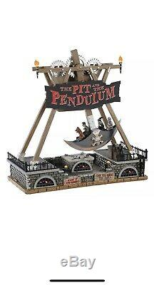 LEMAX Spooky Town CARNIVAL Village THE PIT AND THE PENDULUM NEW IN BOX 2020 NRFB