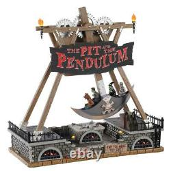 LEMAX Spooky Town CARNIVAL Village THE PIT AND THE PENDULUM Sights & Sounds