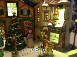 LEMAX Village A Victorian CHRISTMAS CAROL PLAY Animated Lights Sounds Scrooge