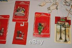 Large Lot Lemax Christmas Village Houses/Buildings and Accessories #2