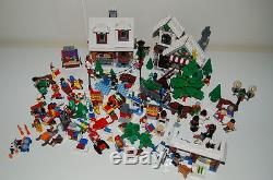 Lego Christmas lot 10199, 10216, 7687 & 4428 Complete with instructions