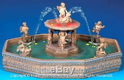 Lemax 14663 LIGHTED VILLAGE SQUARE FOUNTAIN Christmas Village Accessory S O G I