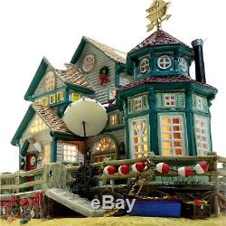 Lemax 2003 Captain Jack's House Plymouth Corners 35806 Retired Fine Rare Details